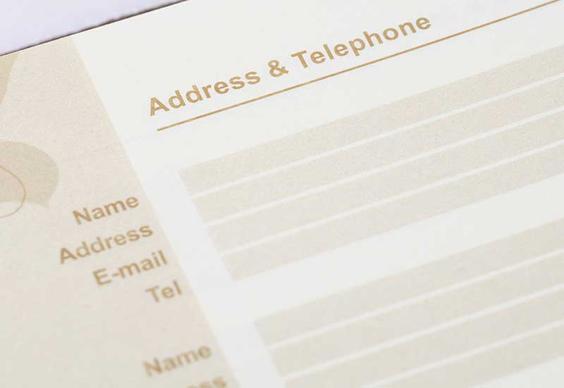 Keeping your address book synced