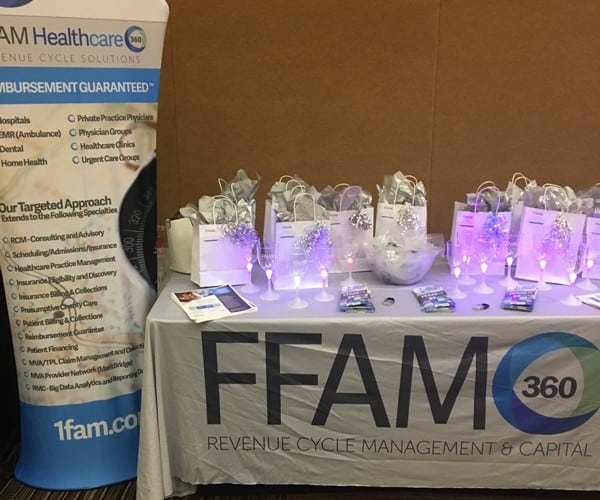 FFAM360 Trade Show booth case study picture