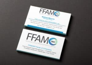 FFAM360 Case study business card designs