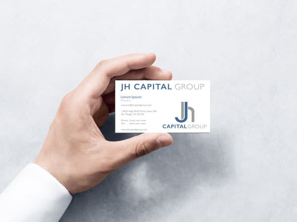 JH Capital Group business card template