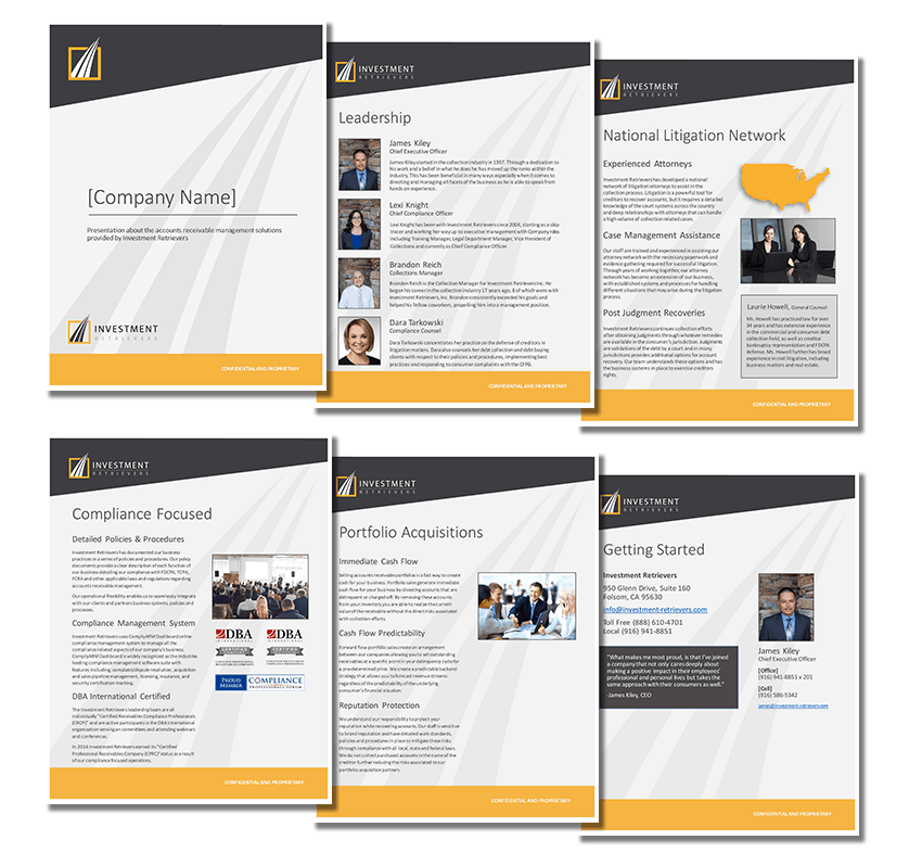 eBooks, Brochures and Boardroom Presentations