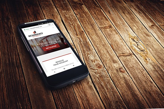 Resurgence Legal Group Mobile Responsive Site Example